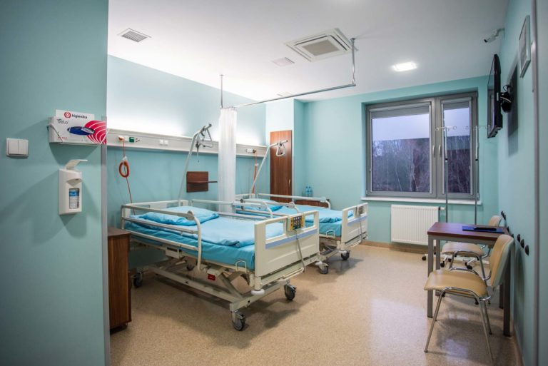 Sala dla pacjentów w Centrum Chirurgii Stopy