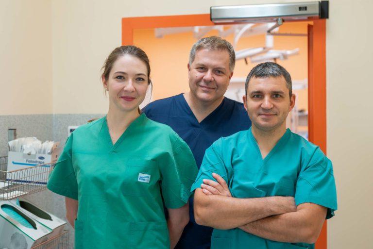 Lekarze Centrum Chirurgii Stopy: Aleksandra Gordon, Cezary Bednarski i Andrzej Warzocha